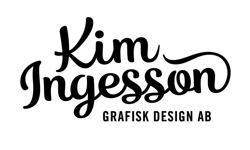 Kim Ingesson Grafisk design